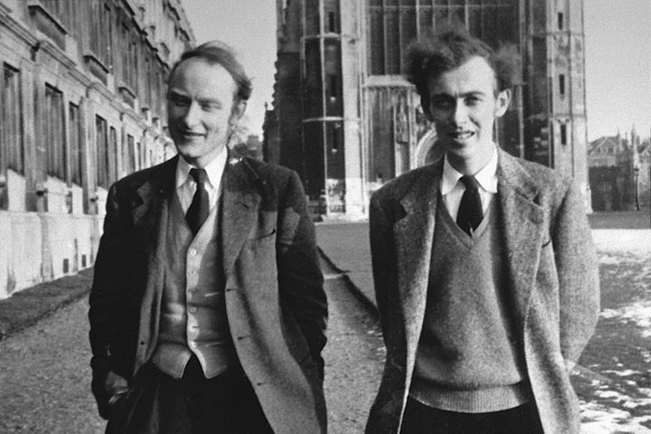 Francis Crick and James Watson