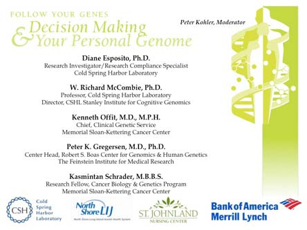 Knowing thy genome: The science and ethics of personal genome sequencing