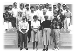Who (else) was at Banbury in 1989 setting the stage for the Human Genome Project?