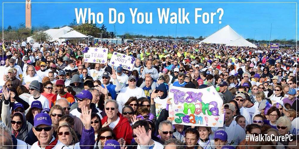 The Walk to Cure Pancreatic Cancer - The Lustgarten Foundation
