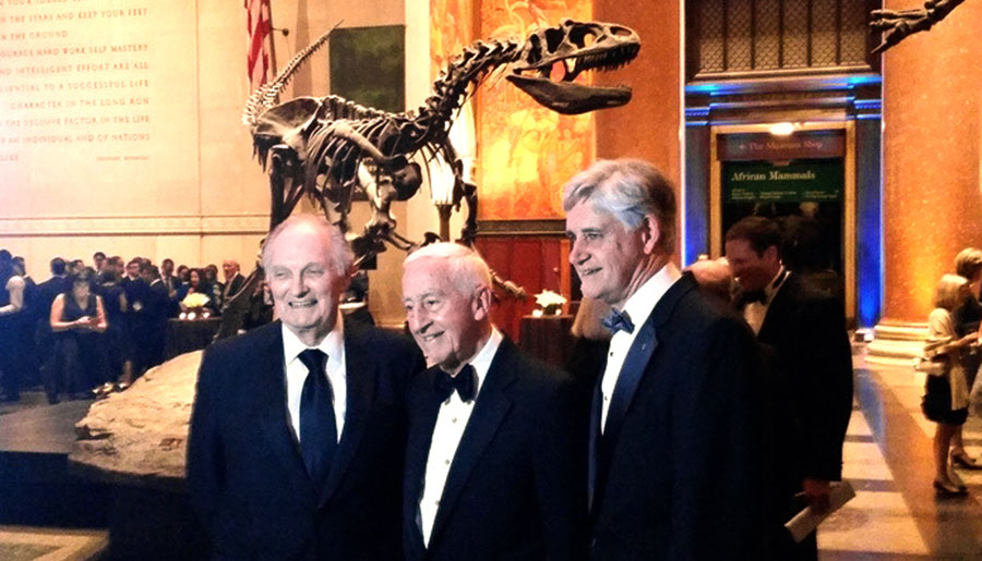 Alan Alda and Roy Vagelos honored at 11th Double Helix Medals Dinner