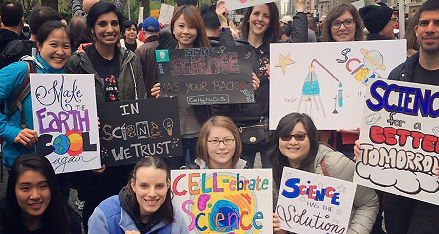March for #scienceeveryday